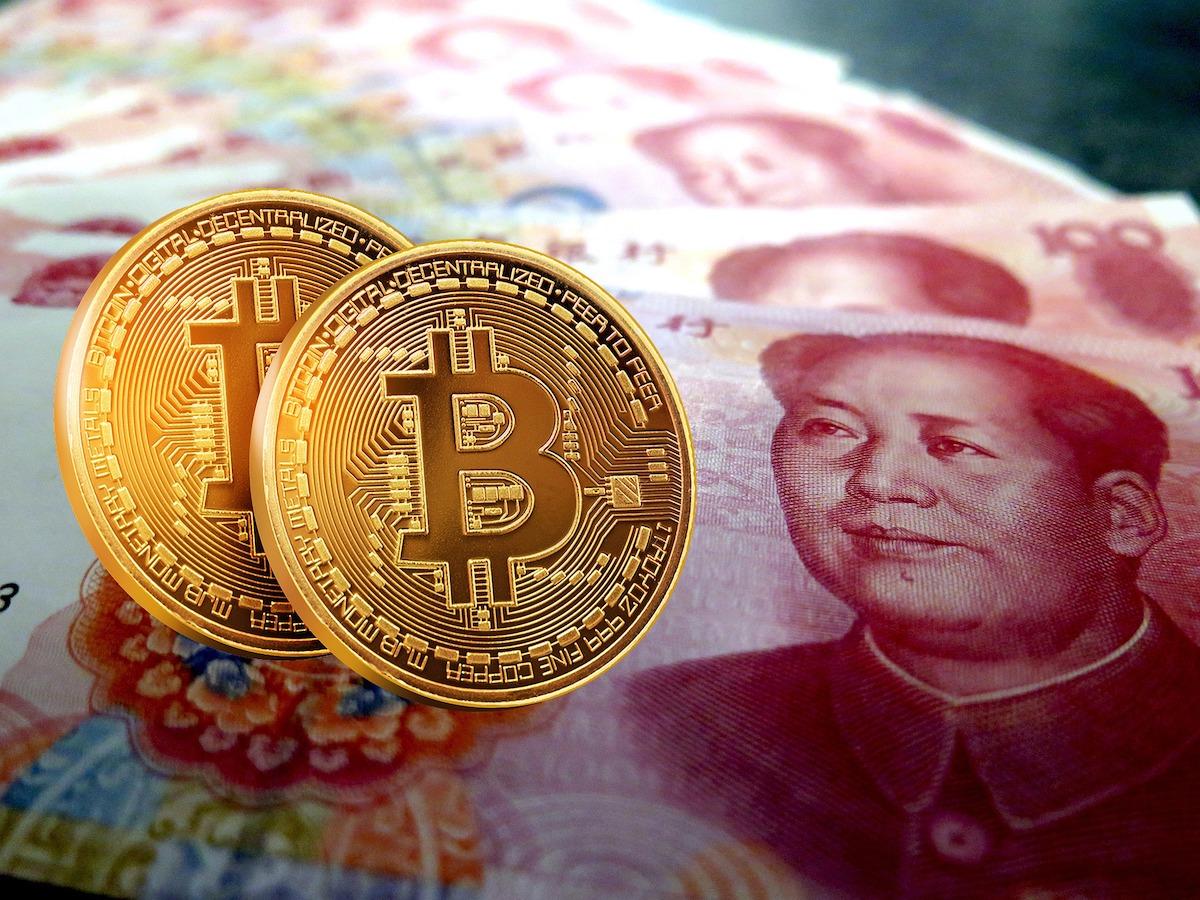 Yuan digitale Wahrung gegen Bitcoin